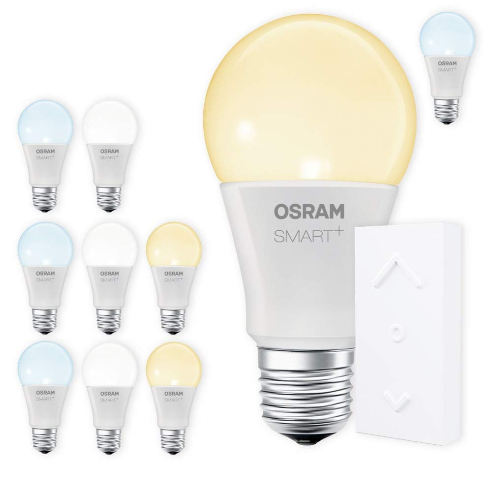 OSRAM SMART+ SWITCH KIT E27 Tunable Weiß dimmbar LED + Fernbedienung weiß Auswahl 10er Set
