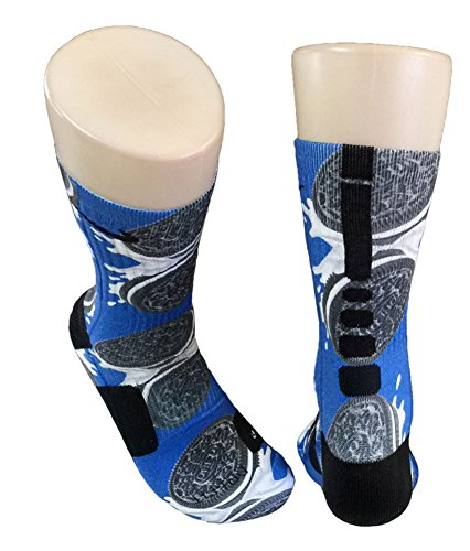 Custom Nike Elite Oreos Socks