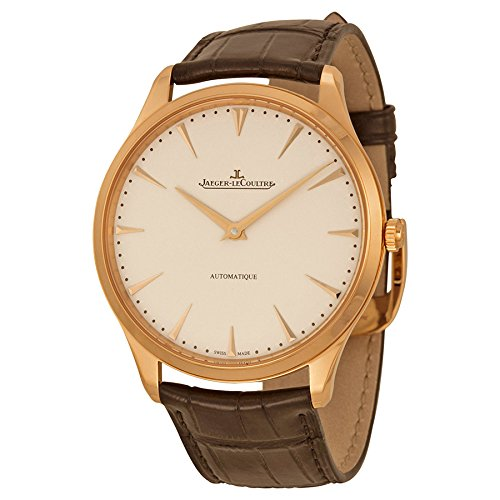 Jaeger LeCoultre Master Ultra Thin Automatic Rose Gold Mens Watch Q1332511