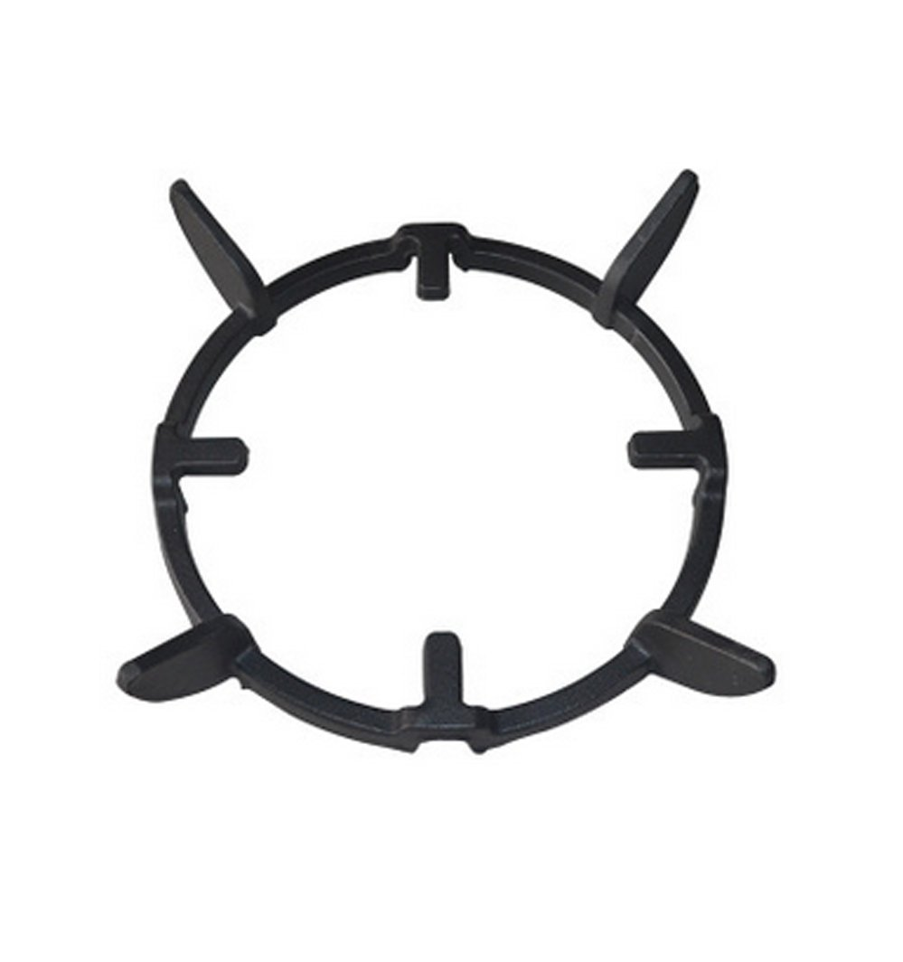Wok Ring/Universal Non Slip Black Cast Iron Stove Trivets for Kitchen Wok Support Ring Cooktop Range Pan Holder Stand Stove Rack Milk Pot Holder for Gas Hob - Gas Stove accessories