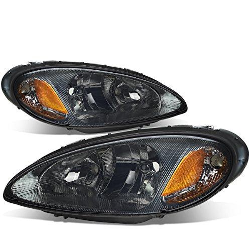 For Chrysler PT Cruiser EJD ECC EDZ EDV EDT Pair of Smoked Lens Amber Corner Headlight Lamp