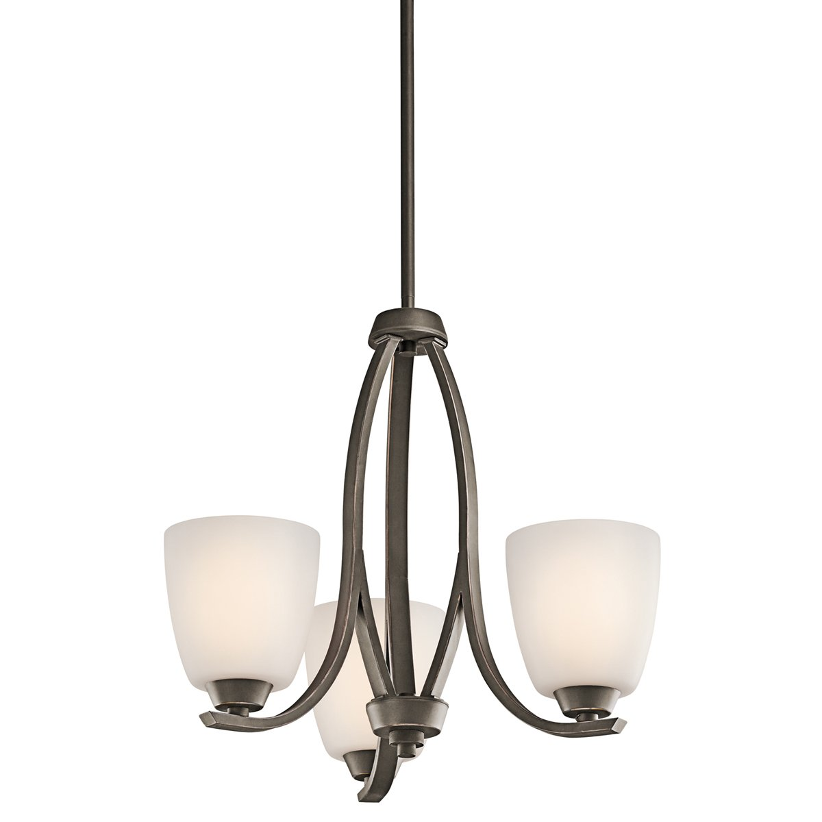 kichler lighting 42556oz 3 light granby mini chandelier olde bronze amazoncom
