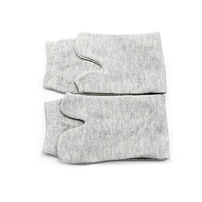 GOOTRADES Unisex 2 Par de Tabi Calcetines Elásticos Algodón Japoneses de Dedos de Pies 2 - Toe Calcetín para Cosplay Flip Flop (Blanco): Amazon.es: Zapatos ...