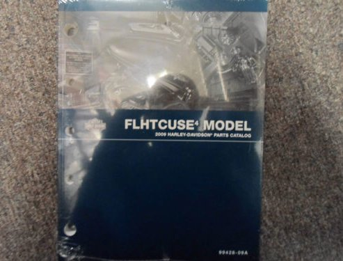 2009 Harley Davidson FLHTCUSE Parts Catalog Manual FACTORY OEM BOOK X ()