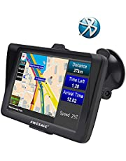 GPS para Coche con Pantalla Táctil HD de 7 Pulgadas Nüvi Reproductor Multimedia Navegador GPS con Mapa de Europa …