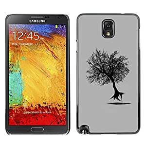 GagaDesign Phone Accessories: Hard Case Cover for Samsung Galaxy Note 3 - Flying Tree