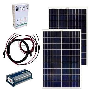 Amazon Com Grape Solar Gs 200 Kit 200 Watt Off Grid