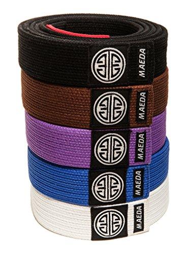 Maeda Brand Gi Material BJJ Belts