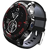 S1 Smart Watch SIM Card Bluetooth Smart Watches App Sync Phone Smartwatch Sport Pedometer WristWatch Smart Watch For Android IOS Smartphone (black)