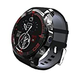 3G Smart Watch App downlodable Bluetooth Smart Cell Phone With SIM Card Sync GPS Wifi Web Surf Heartrate Monitor Sport Pedometer Compatible Android Phone Huawei Samsung Xiaomi Google Sony LG OPPO