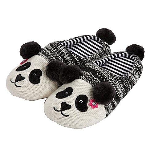 EU Femme Unisexe EVA Chaussons 40 Panda Confortable antidérapant Pantoufles Tofern Automne Hiver Chaud Femme 39 éponge Souple Famille Léger Coton gZwqaqxnCS