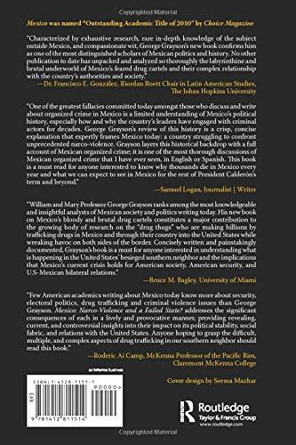 Mexico: Narco-Violence and a Failed State?: Amazon.es: Grayson, George W: Libros en idiomas extranjeros