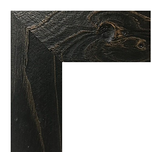 Country Oak Picture Frame (US ART Frames 24x32 Textured Distressed Country Aged Burnt Oak Finish 2.75 Inch, Solid Wood, Picture Poster Frames)