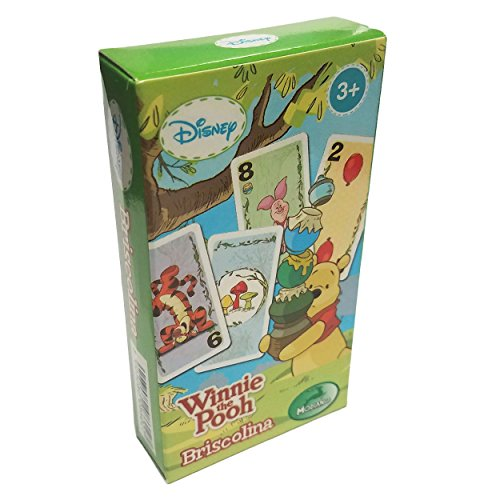 Deck 40 Italian Playing Cards Winnie the Pooh Disney Scopa Briscolina Kids
