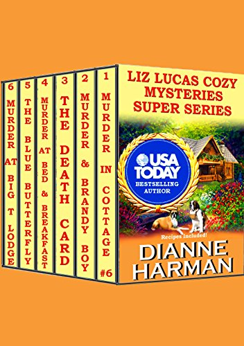 Liz Lucas Cozy Mystery Super Series (Summer Collection Cottage)