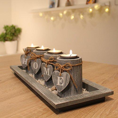 Dszapaci-Dcorations-Maison-pour-Salon-Ensemble-de-Porte-Bougies-Tea-Light-Dcor-de-Table-en-Bois
