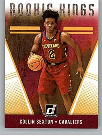 2018-19 Donruss Rookie Kings Basketball Insert  16 Collin Sexton Cleveland  Cavaliers Official NBA 53d3f2f17