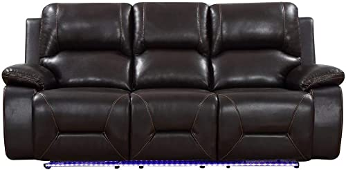 Blackjack Furniture Sofa Leather Match