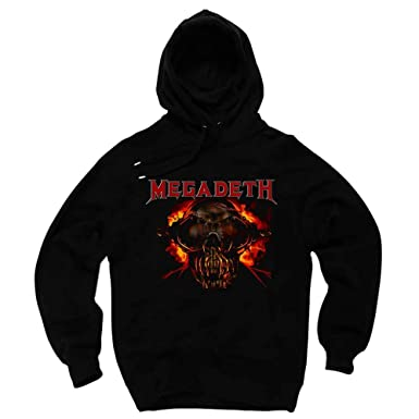 5b3f4b61 The Banyan Tee Megadeth Hoodie: Amazon.in: Clothing & Accessories
