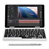 Sonmer ONE-NETBOOK One Mix 2 7'' 2-in-1 Tablet, 2.6GHz Quad Core Laptop Computer with Touchscreen and Detachable Keyboard,8GB RAM 256G PCI-E SSD,Fingerprint Recognition,Dual Band WiFi (With Stylus)