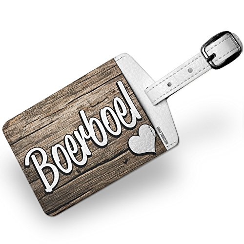 Luggage Tag Boerboel, Dog Breed South Africa - NEONBLOND by NEONBLOND