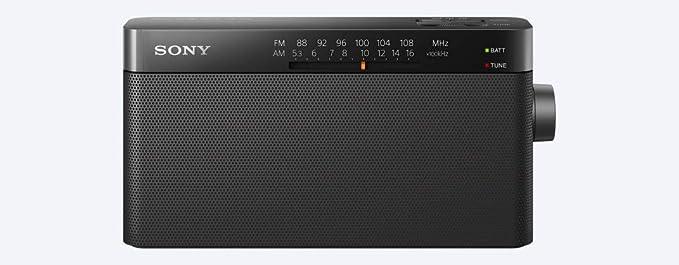 Rádio Portátil Sony Fm/am Icf-306 por Sony