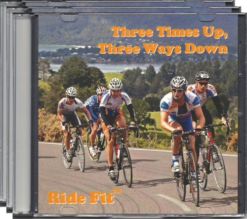 Ride Fit Intermediate Indoor Cycle Training DVD Combo Pack -