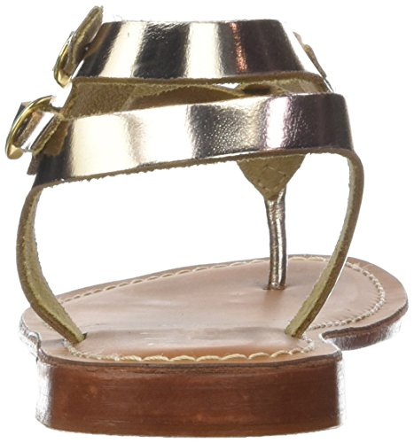 para L'ATELIER SH con Pulsera 20 Mujer 18 TROPEZIEN Sandalia Gold Dorado n0TU4an