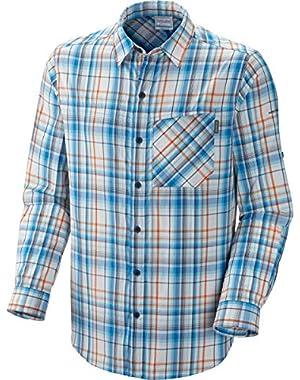 Sportswear Men's Insect Blocker Plaid Long Sleeve Shirt