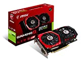 MSI GAMING GeForce GTX 1050 2GB GDRR5 128-bit HDCP Support DirectX 12 TORX 2.0 Fan Graphics Card (GTX 1050 GAMING X 2G)