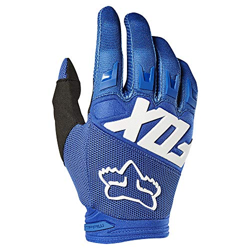 - 2019 Fox Racing Dirtpaw Race Gloves-Blue-L