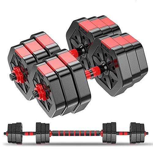 GoXccess Weights Dumbbells Set-Adjustable Dumbbells for Men and Women-Weights Dumbbell Set for Lifting-Barbell Weight…