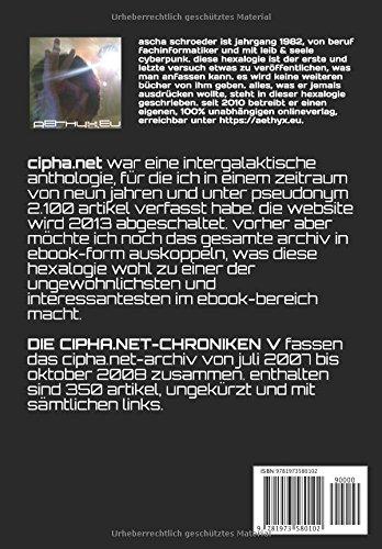 DIE-CIPHANET-CHRONIKEN-V-eine-intergalaktische-cyberpunk-anthologie-German-Edition