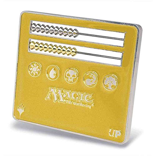 Official Magic: The Gathering Large Abacus Life Counter (Gold)