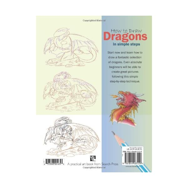 How-to-Draw-Dragons-in-Simple-Steps-Paperback–September-9-2008