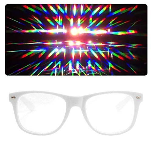 EmazingLights Diffraction Prism Rave Glasses -