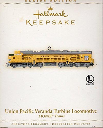 Hallmark Keepsake Union Pacific Veranda Turbine Locomotive QX2323