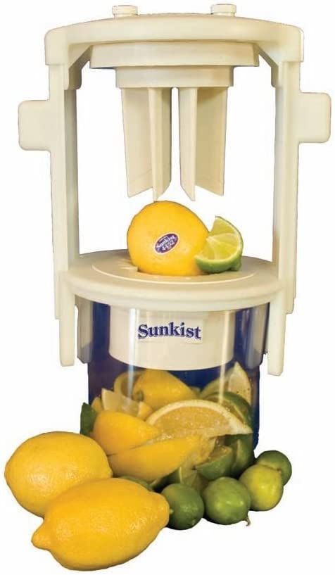 Sunkist Growers | Pro Series Sectionizer with 8 Wedge Blade Cup B-204 | Fruit & Vegetable Cutter | Food Preparation | Interchangeable Kitchen-Grade Stainless Steel Blades | NSF Approved | Model B-204
