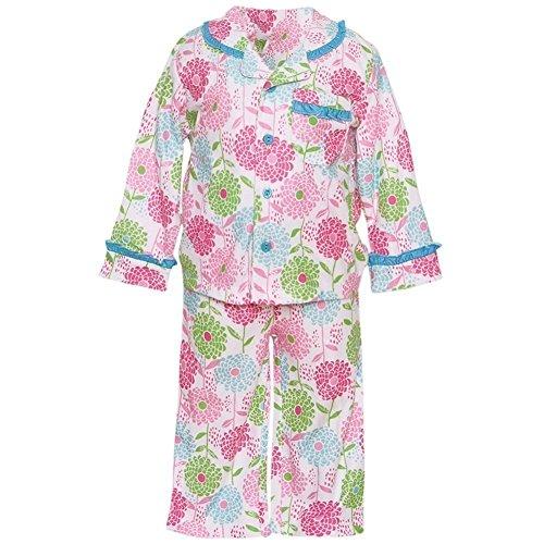 Absorba 2 Piece (ABSORBA Baby Girls' Two Piece Pajama Set, Multi, 18 Months)