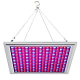 LED Grow Light for Indoor Plants Growing Lamp 150W 289 LEDs Dimmable Plant Lights Bulb Panel Hanging Kit for Seedling Hydroponics Greenhouse Veg and Flower by Hytekgro