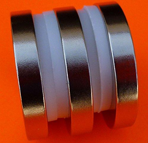 3Pc Super Strong Neodymium Magnet N42 1.5 x 1/4