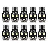 Decodificación de Bombillas LED, 10 Unids T10 1210 13SMD LED Cuña de Coche Decodificación Canbus Ancho de la Bombilla Lámpara Luz de la placa de Matrícula