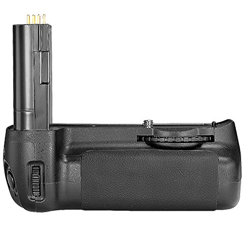 Neewer Replacement MB-D80 Battery Grip Hand Grip Works with 6pcs AA Battery or EN-EL3e Battery (Battery Not Included) + Battery Grip Holder for Nikon D80 D90 SLR Camera