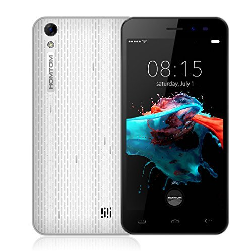 HOMTOM HT16 (2016) 3G Dual SIM Quad Core Android 6.0 Smartphone (5.0 Zoll, HD 1280*720 pixels, 8GB ROM+1GB RAM)