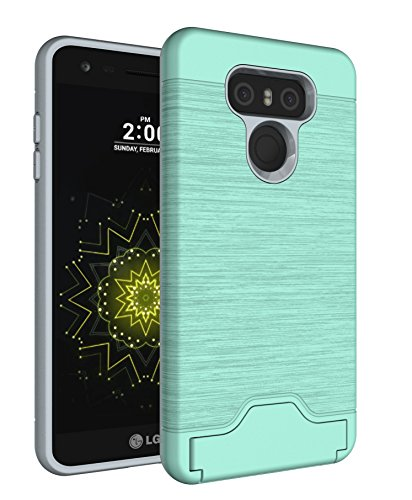 LG G6 Case, Vigeer [Card Slot Holder] [Shockproof...