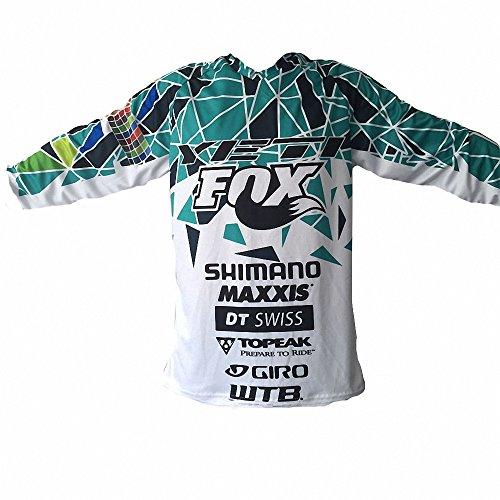 Motogp Herren T Shirts Fox Race Langarm Shirt