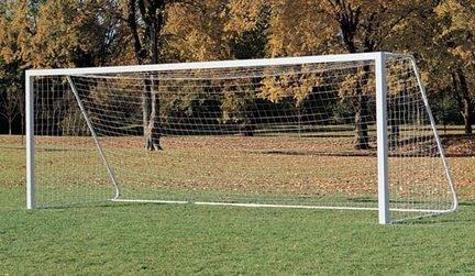 6'6'' x 18' x 4' Soccer Nets - 1 Pair