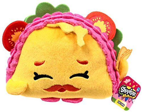 [Toddler NEW 2016! Shopkins Taco Terrie Birthday Gift Bundle Mega Season Toy Figure Food Fair Mystery] (Homemade Kids Halloween Costumes 2016)