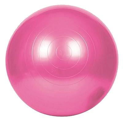 Exercise Ball, Fansport 25.6'' Gym Ball Balle en Plastique Pratique Pour la Formation Yoga Fitness
