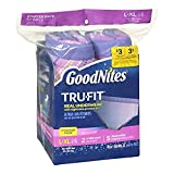 Health & Personal Care : Huggies Goodnites Trufit Real Underwear Starter Pack for Girls Size L-XL